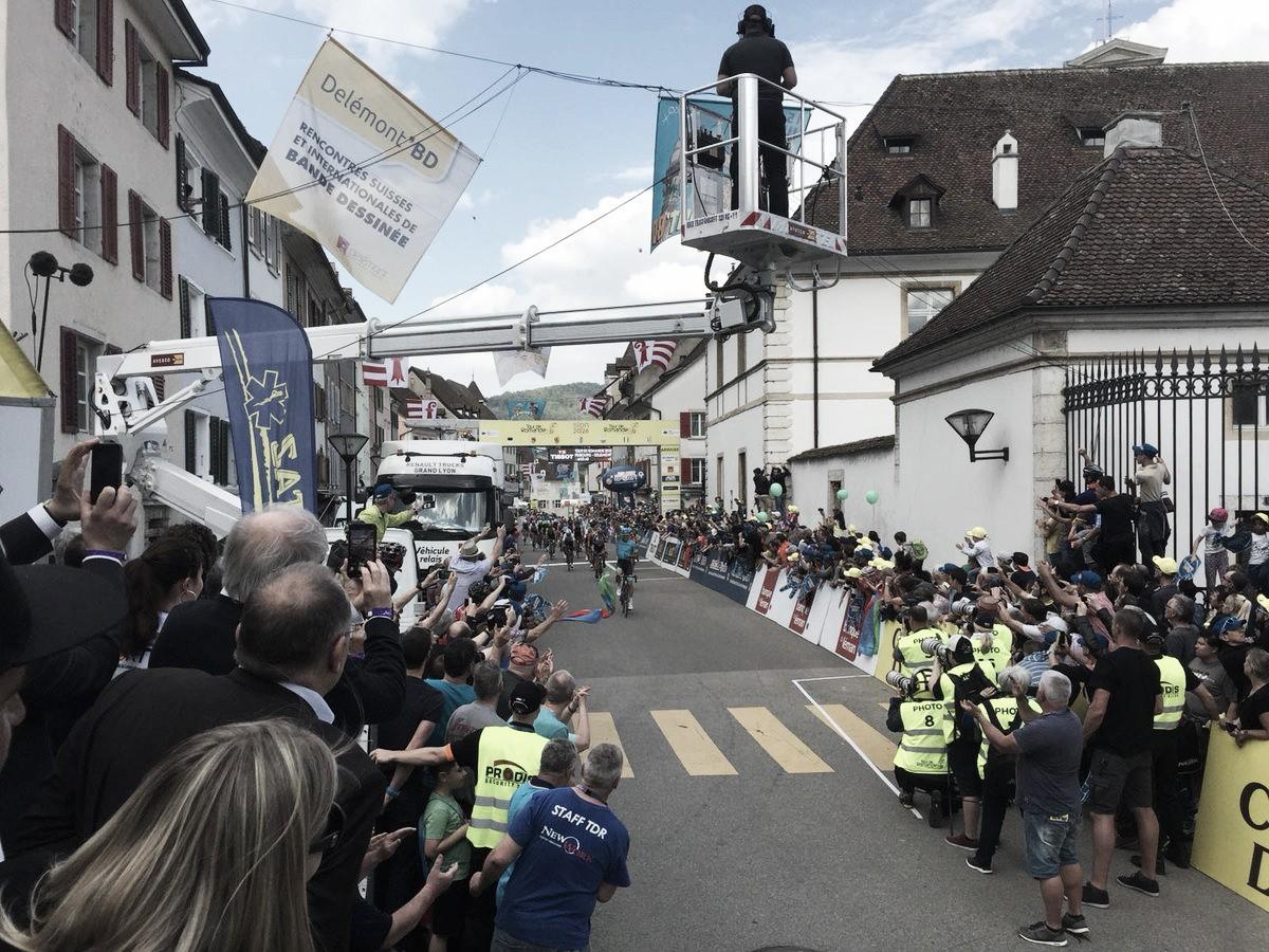 Ciclismo, Giro di Romandia: a Fraile la prima tappa, Roglic nuovo leader