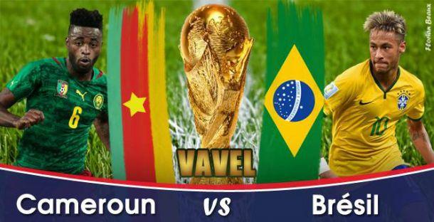 Live Coupe du Monde 2014 : Cameroun - Brésil en direct