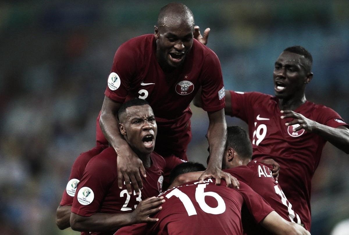 Visando 2022, Catar aproveita Copa América para ganhar experiência