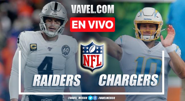Resumen y anotaciones del Raiders 14-28 Chargers en NFL 2021