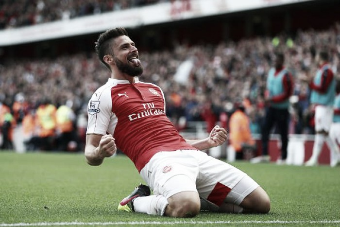 Arsenal 4-0 Aston Villa: The Gunners beat Tottenham Hotspur to second on the final day