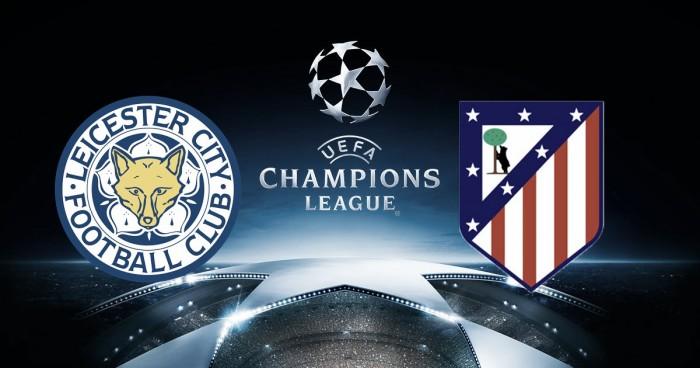 Partido Leicester City vs Atlético de Madrid en vivo en Champions League 2017 (1-1)
