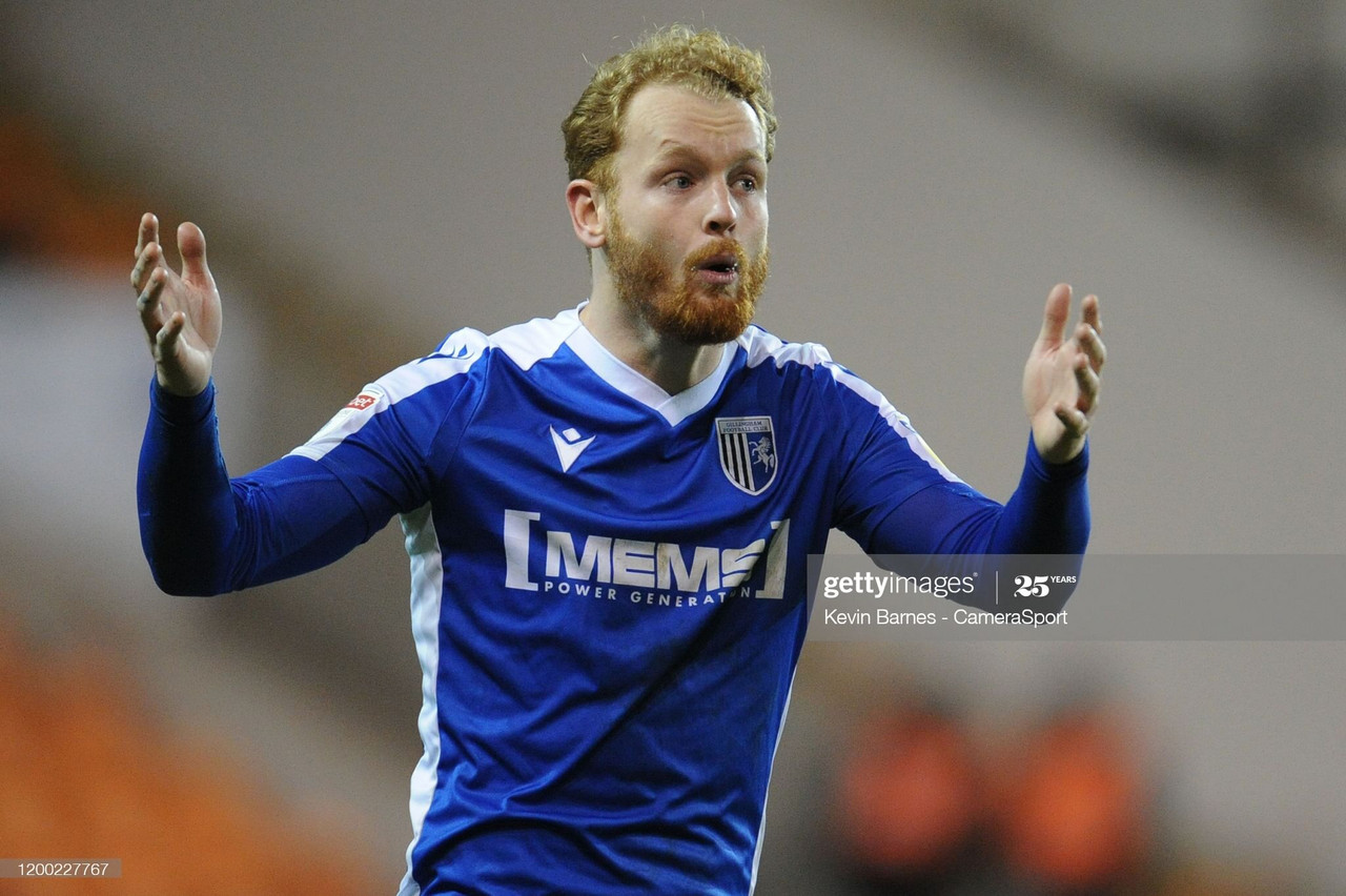 Connor Ogilvie wins Gillingham's 'player of the season'