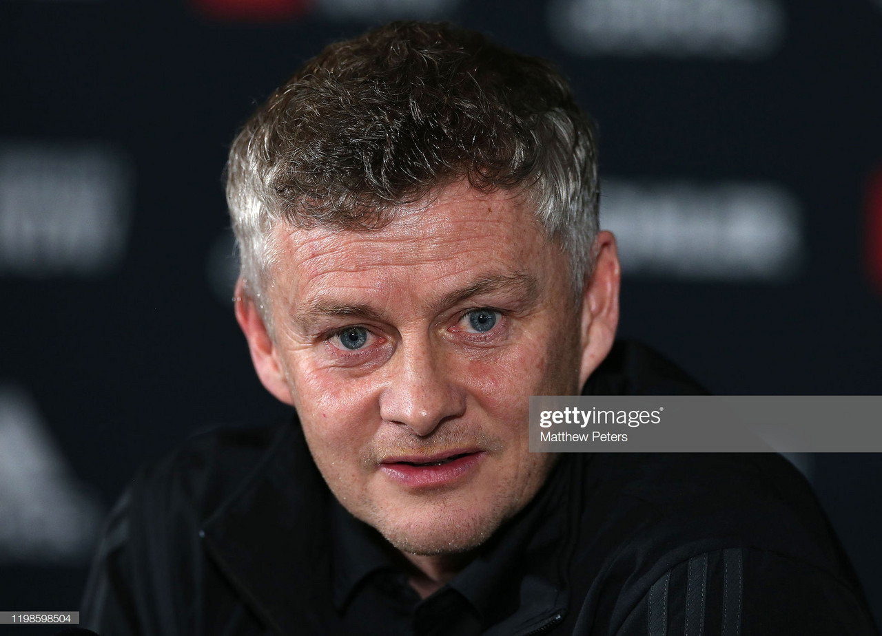 Ole Gunnar Solskjaer tells Man United fans not to expect many signings in January