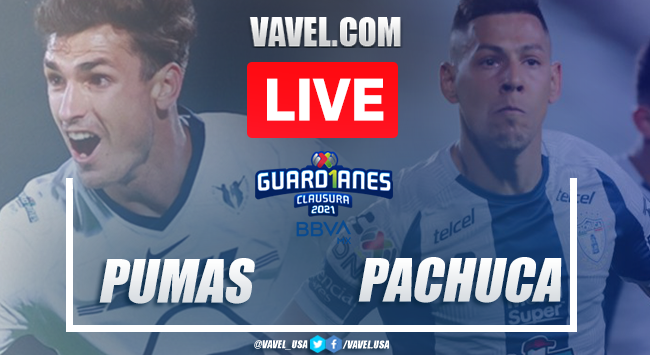 Goals and highlights: Pumas 2-2 Pachuca in 2021 Liga MX Guard1anes