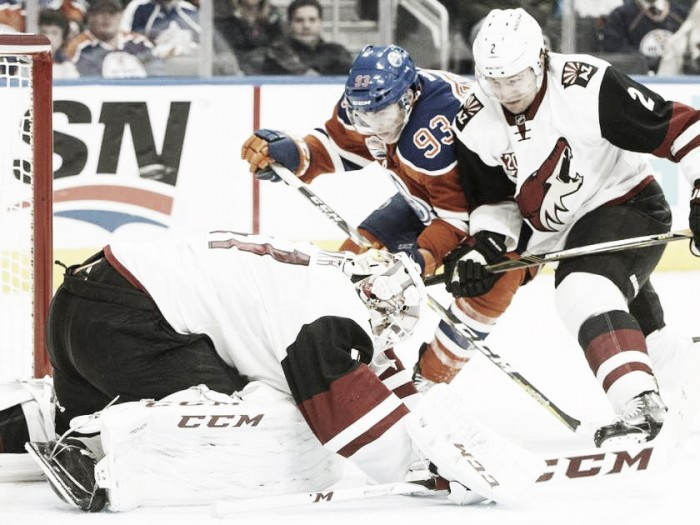 Arizona Coyotes edge Edmonton Oilers again, 2-1