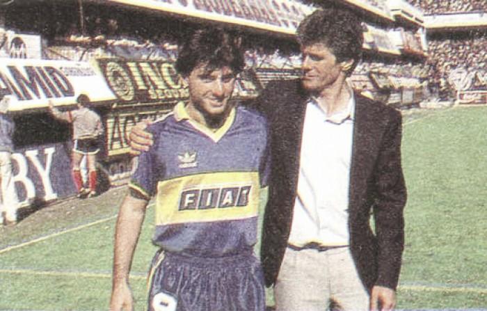 Un día como hoy debutada en Boca, Diego Latorre