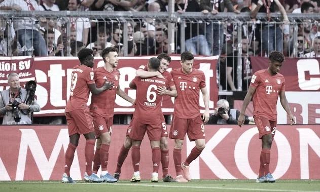 Bayern de Munique vence Union Berlin e assume a liderança da Bundesliga