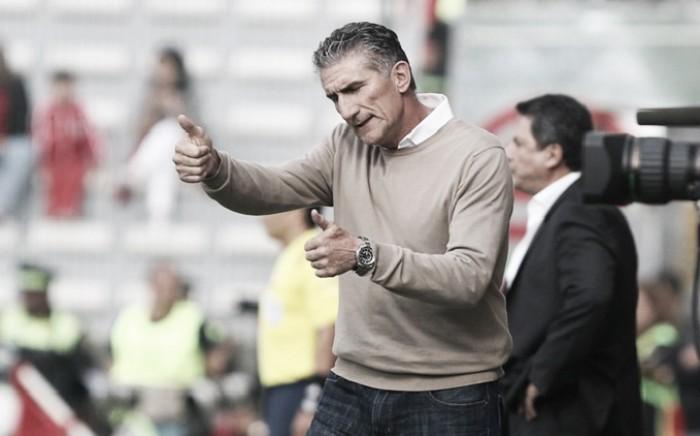 """Bauza comemora classificação e promete conversa com Centurión: """"É útil para o time"""""""