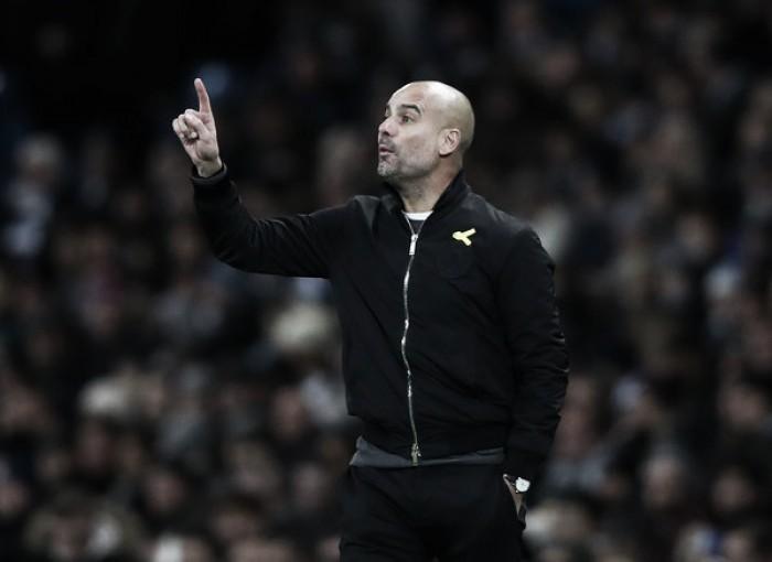 """Pep Guardiola: """"Hoy hemos disfrutado en el último momento, toca celebrarlo"""""""