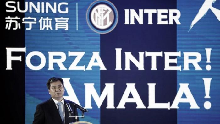 Suning: si farà un'Inter migliore, ma rispettando il fair play finanziario. Zanzi possibile sostituto di Michel Bolingbroke