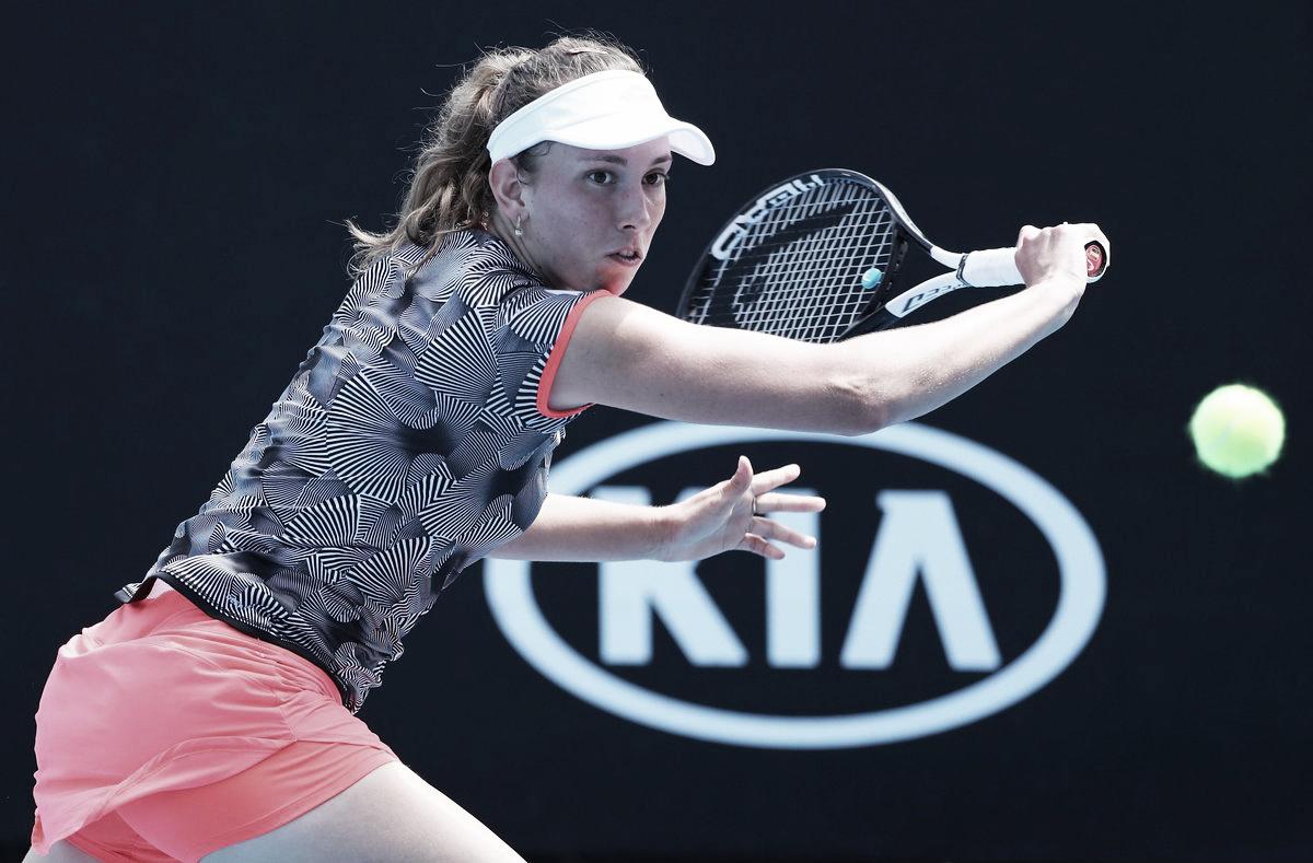 Mertens despacha Gasparyan e avança no Australian Open
