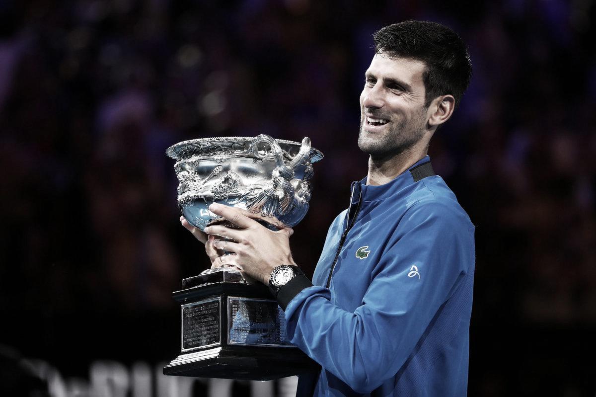 """Djokovic se surpreende com seu nível na final do Australian Open: """"Partida perfeita"""""""