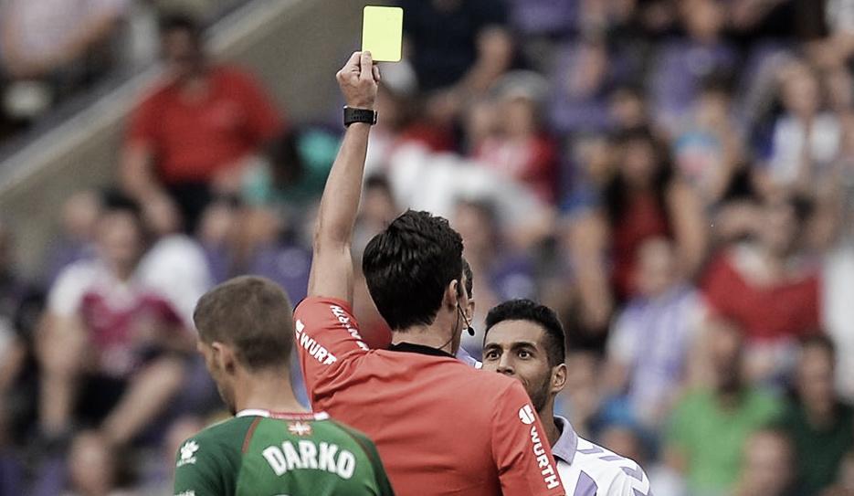 Munuera Montero, todo OK para el partido frente al Huesca