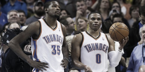 NBA, Westbrook e Durant trascinano Oklahoma City al successo sui Nets (110-99)