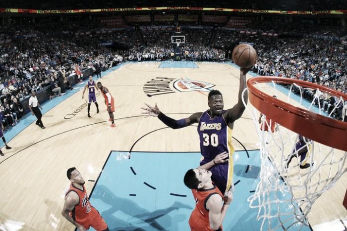 Los Lakers caen ante la historia de Westbrook
