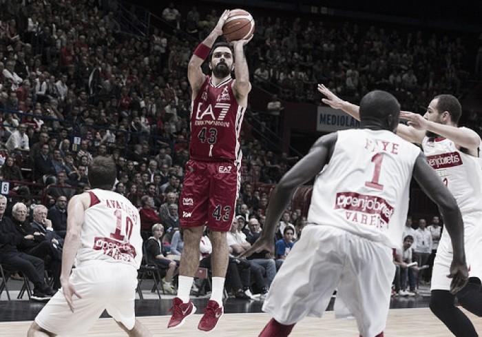 Legabasket, per l'Olimpia Milano è tempo di derby: al Forum arriva Varese
