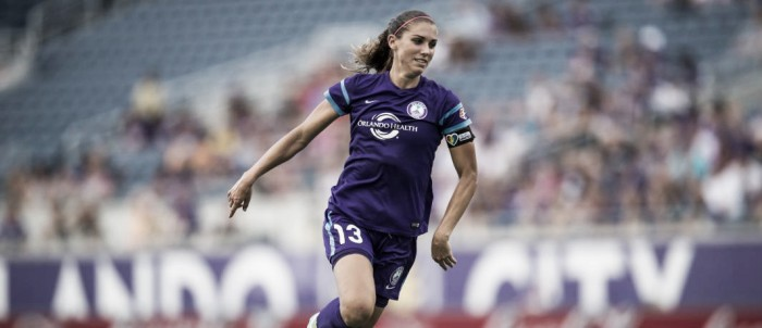 Alex Morgan out of action for 'three to four weeks'
