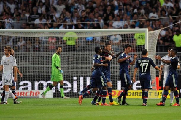 Lyon, séduisant, bute sur le Real Madrid