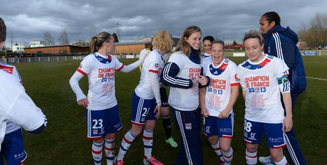 OL féminin : 7 buts pour un 7e titre de champion de France