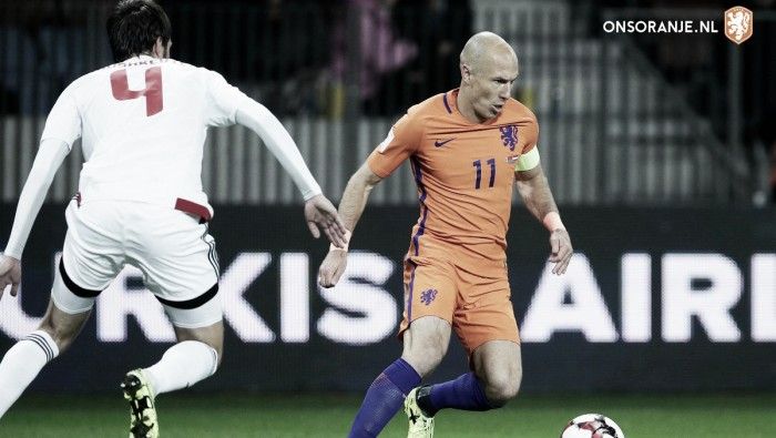 RUSSIA 2018: Robben annuncia addio Nazionale olandese dopo l'eliminazione