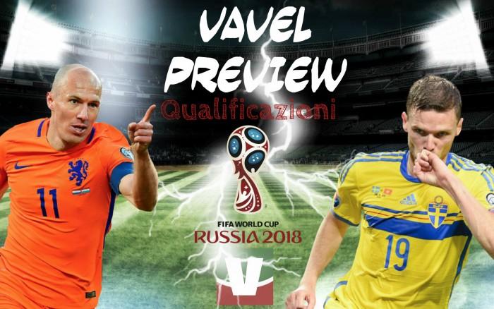 Qualificazioni Russia 2018 - Svezia a un passo dai playoff, l'Olanda cerca il miracolo: servono sette gol