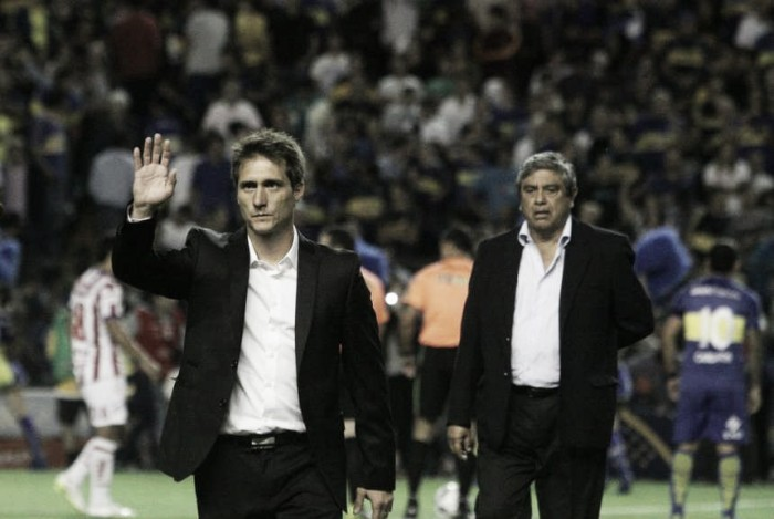 """Guillermo Barros Schelotto: """"Nosotros necesitábamos ganar"""""""