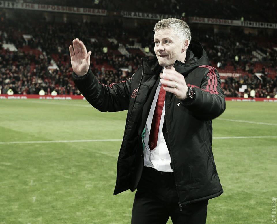 """Ole Solskjær fala sobre nova mentalidade ofensiva do United: """"É isso que os fãs querem ver"""""""
