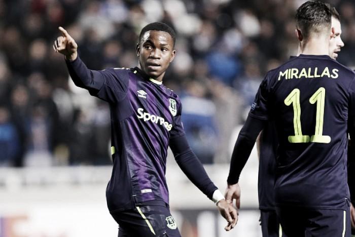 Everton encerra participação na Europa League com vitória confortável sobre Apollon