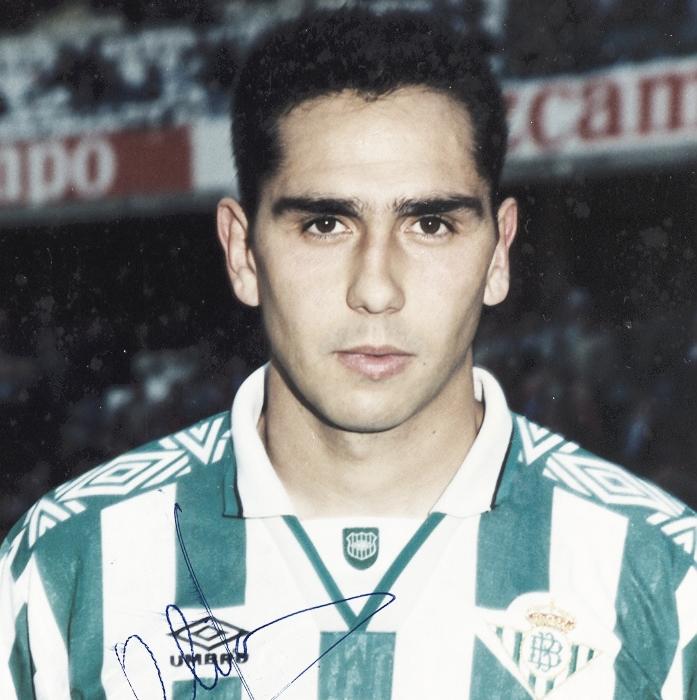 Yo jugué en el Real Betis: Tomás Olías