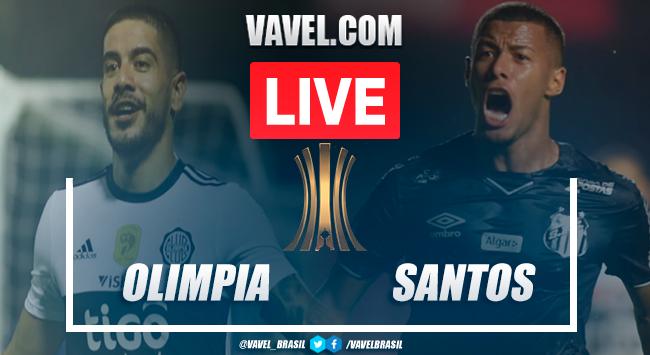 Gols e melhores momentos para Olímpia 2x3 Santos pela Libertadores 2020