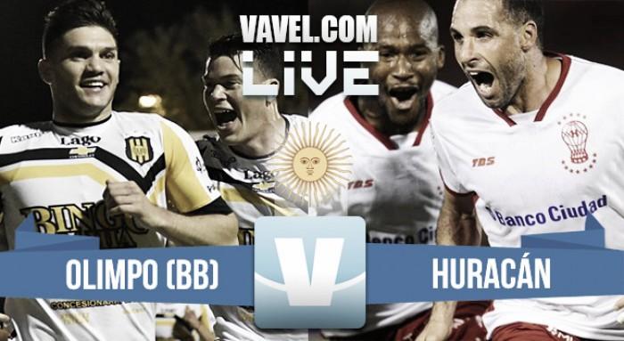 Olimpo vs Huracán en vivo online por el Torneo de la Independencia