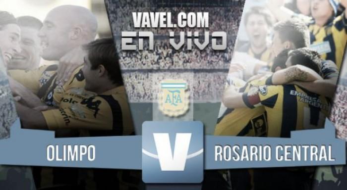 Resultado de Olimpo - Rosario Central por el Torneo de Transición 2016 (1-1)