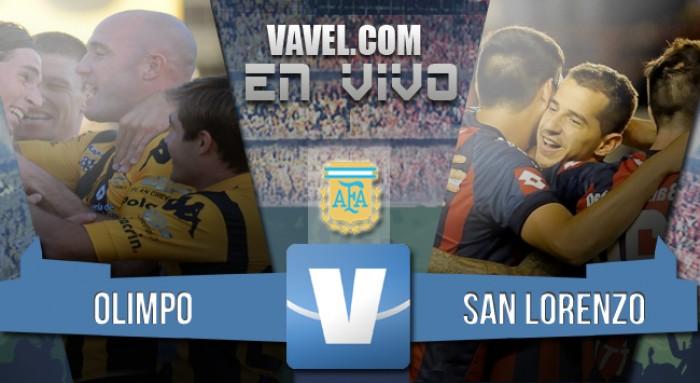 Resultado de Olimpo - San Lorenzo en la Liga Argentina (0-2)