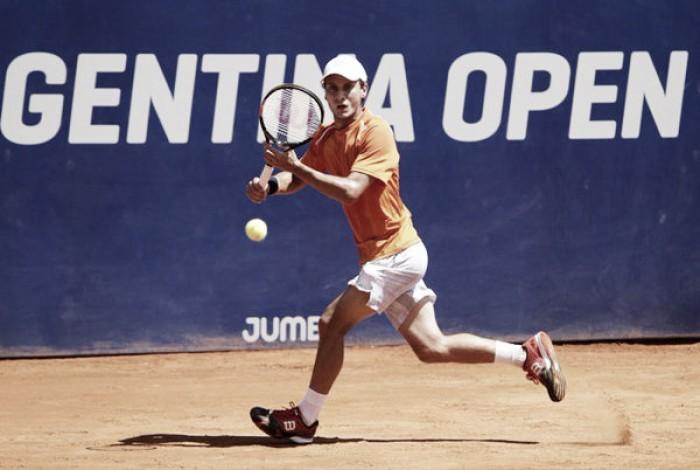 Continúa la luna de miel: Olivo, de gran comienzo de año, superó a Bagnis y sigue de pie en el Argentina Open