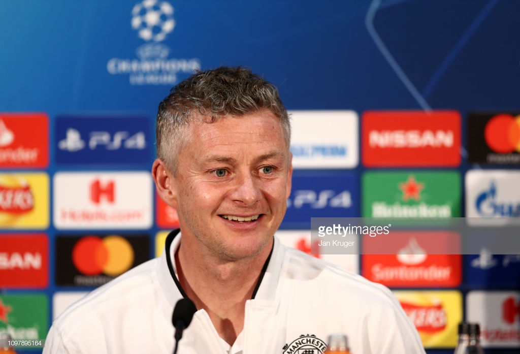 Solskjaer: Perfect time for Man United to play big game vs PSG in Europe