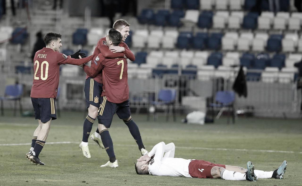 Espanha busca virada diante da Geórgia pelas Eliminatórias à Copa do Mundo