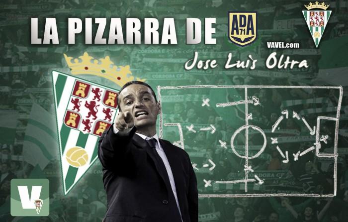La pizarra de Oltra: AD Alcorcón - Córdoba CF, defensa férrea y saber estar