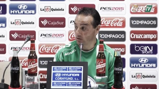 """José Luis Oltra: """"Tenemos que tomar buenas decisiones y hacer lo que requiera cada momento"""""""