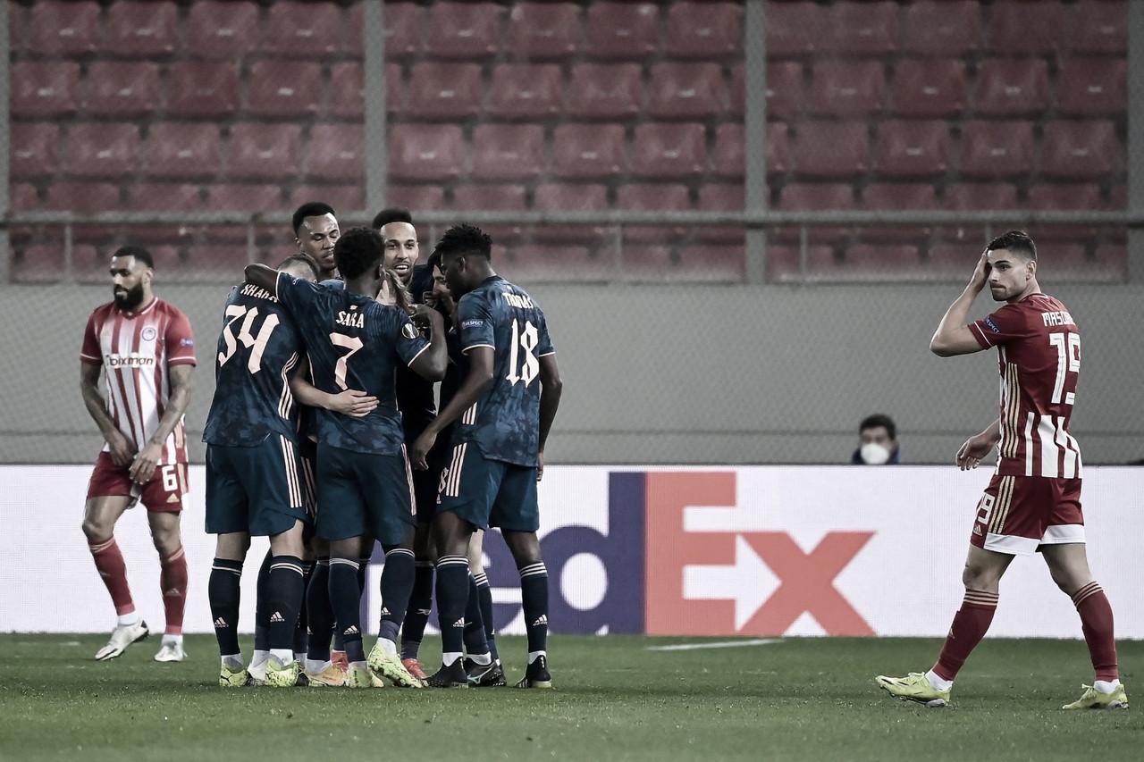 El Arsenal muestra una versión arrolladora en Grecia