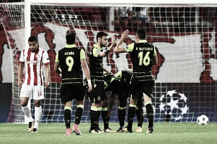 Champions League - Dominio Sporting, l'Olympiakos si sveglia tardi (2-3)