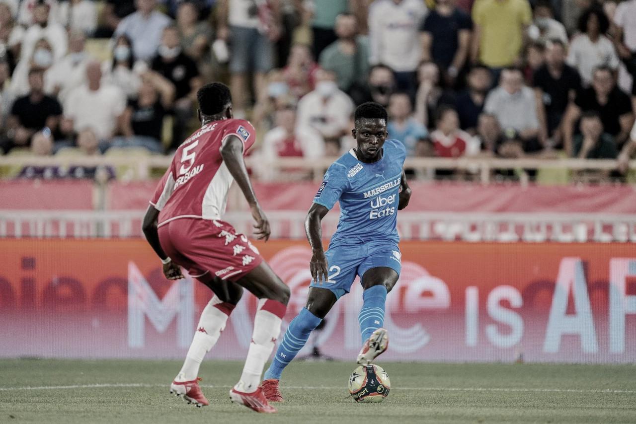 Olympique de Marselha vence Monaco e se mantém na caça ao líder da Ligue 1