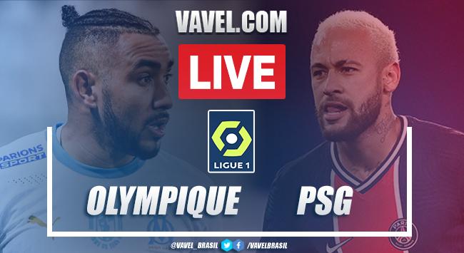 Gols e melhores momentos de Olympique de Marseille x Paris Saint-Germain (0-2)