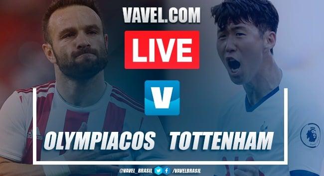 Gols e melhores momentos Olympiacos 2x2 Tottenham pela Champions League