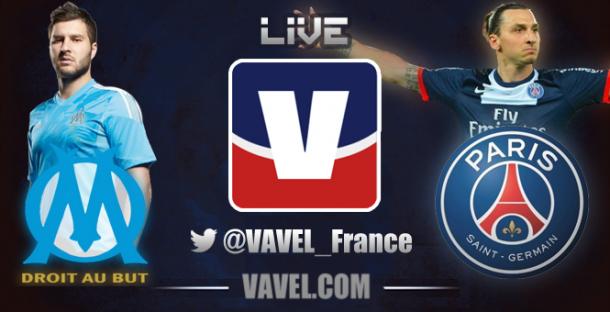 Résultat Olympique de Marseille - PSG (2-3)