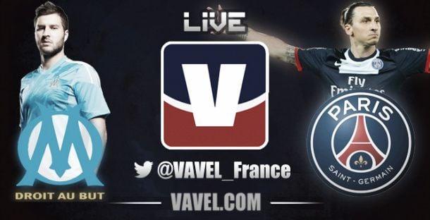 Live Olympique Marsiglia - Paris Saint Germain, la Ligue 1  (2-3)