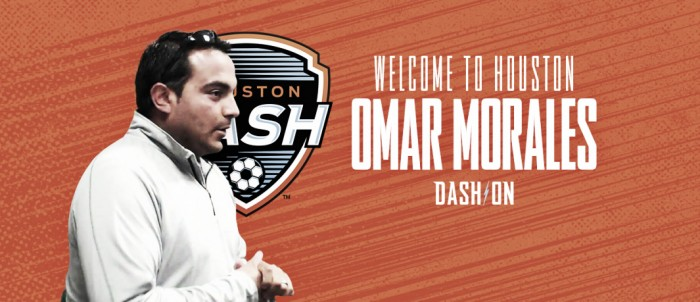 Houston Dash adds Omar Morales to coaching staff