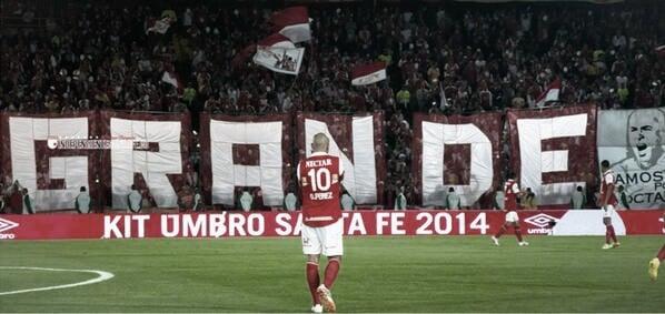 Los 10 del 10; un repaso de los mejores goles de Omar Pérez en Santa Fe