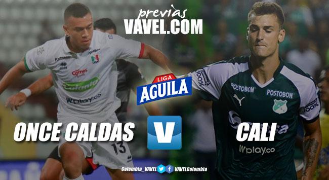 Previa Once Caldas vs Deportivo Cali: dos equipos buscando u cupo en los ocho mejores
