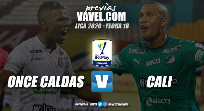 Previa Once Caldas vs Deportivo Cali: por los tres puntos y la clasificación